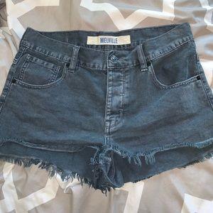 Black Brandy Melville shorts